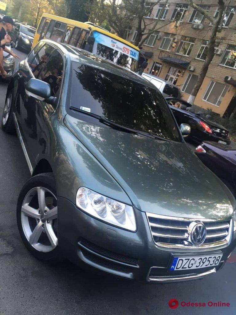 В Одессе задержали автомобильных воров из Грузии (фото)