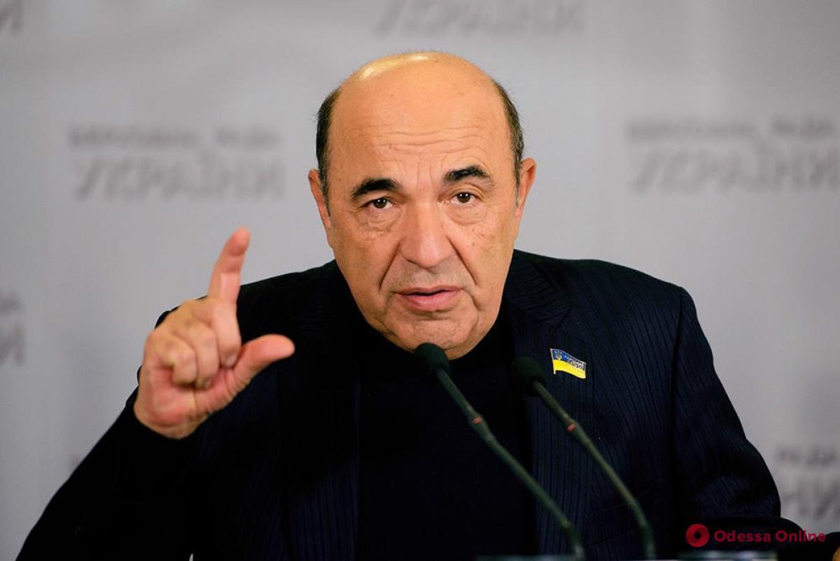 Вадим Рабинович: «Кандидаты в президенты, платя залог в тысячах долларов, могут серьезно пополнить бюджет и поднять пенсии»