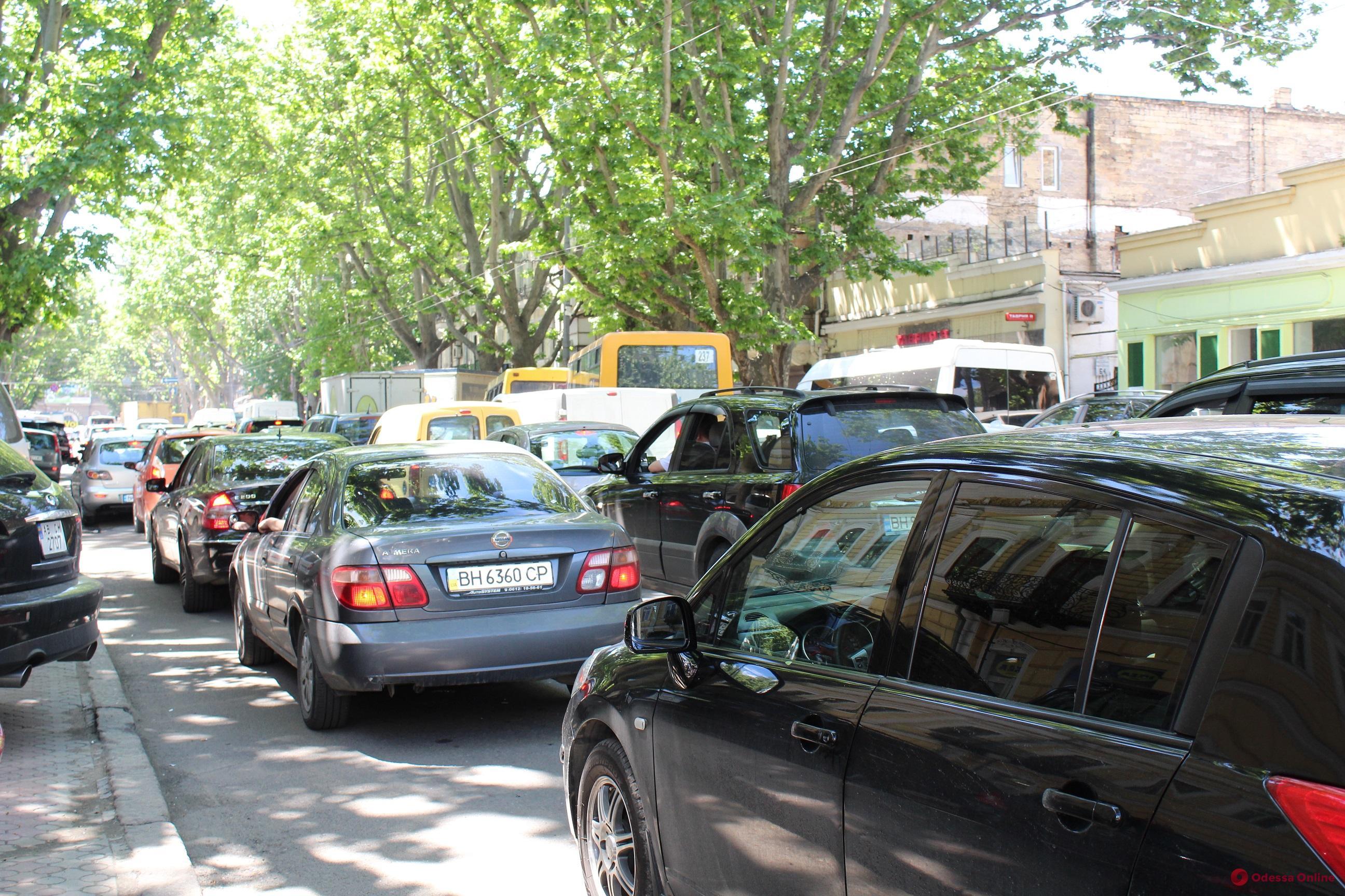 Одесские пробки: трудный путь с поселка Котовского