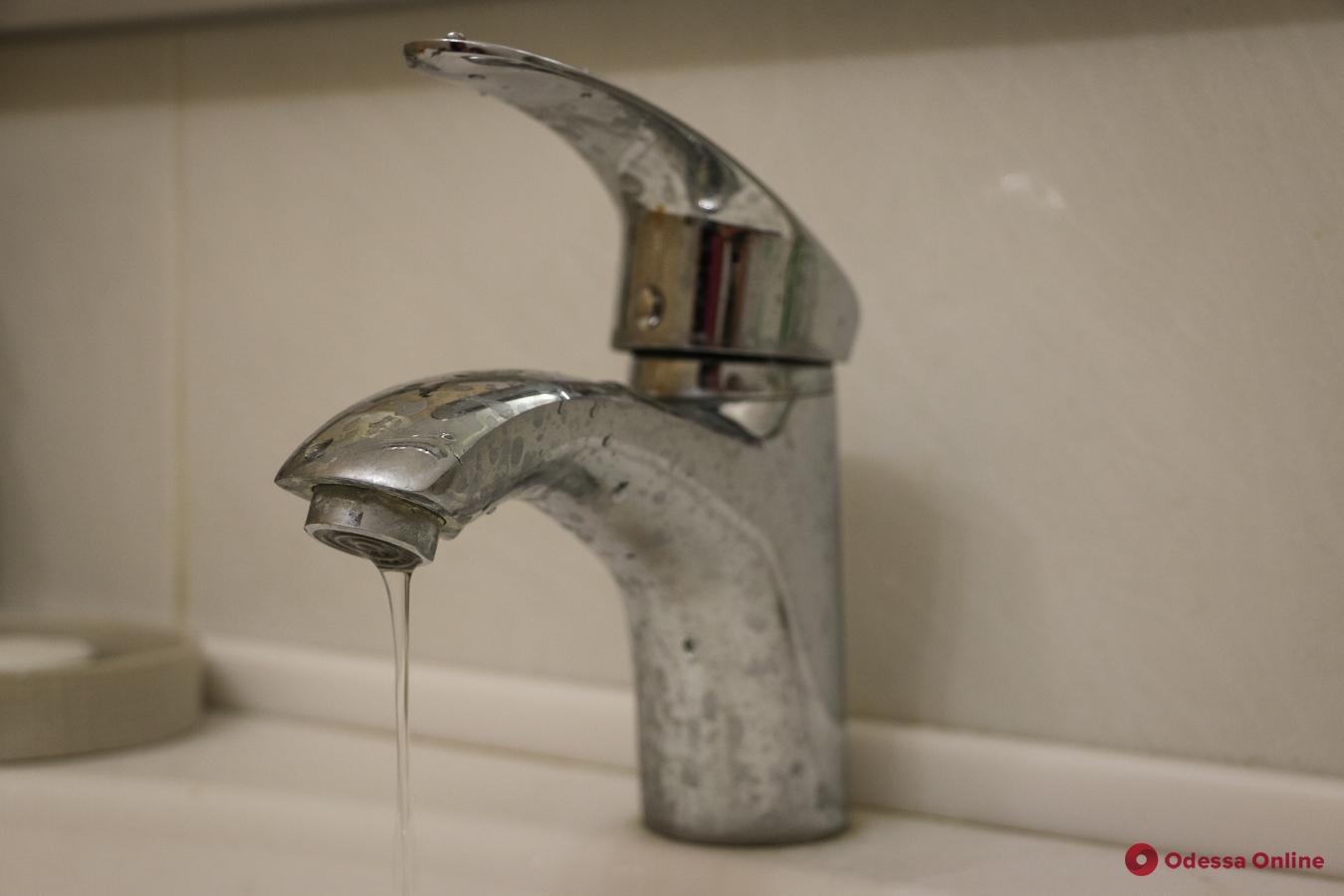 В центре Одессы до семи вечера не будет воды