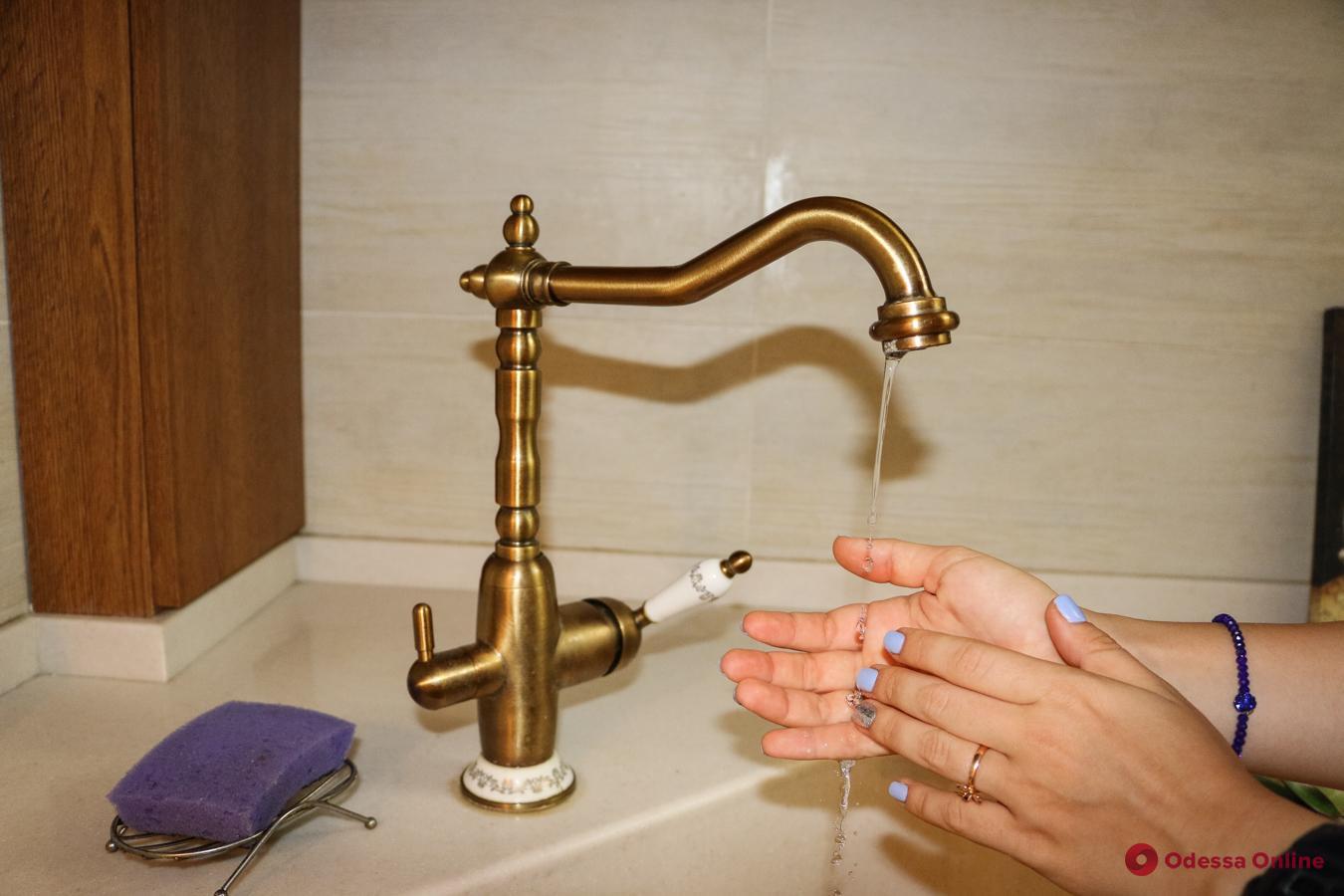 В понедельник в ряде домов на Большом Фонтане весь день не будет воды