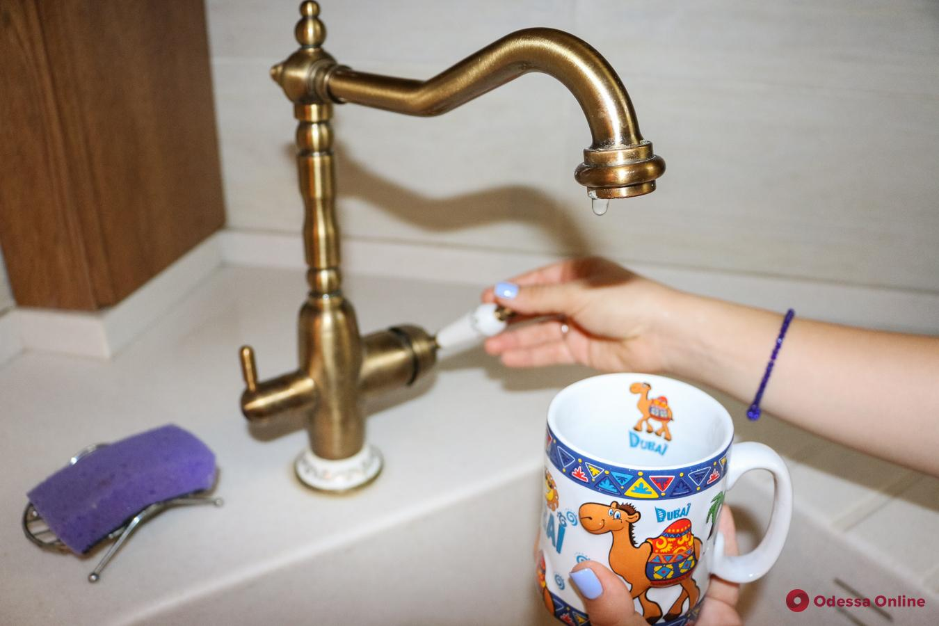 Завтра в нескольких пригородах Одессы отключат воду