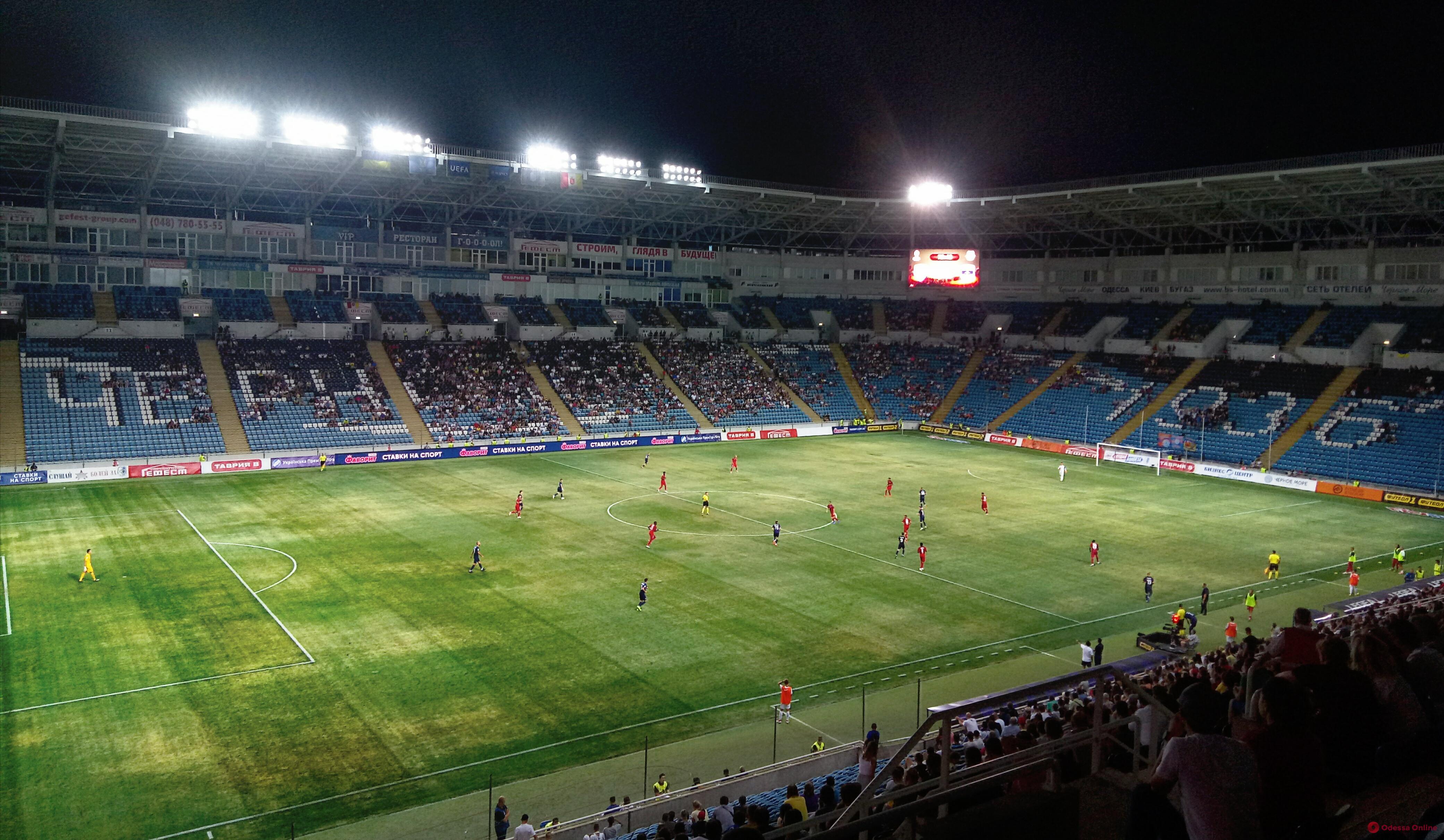 Лига Европы в Одессе: «Мариуполь» досадно проиграл французскому «Бордо»