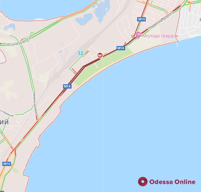 Одесса: ситуация с пробками на дорогах