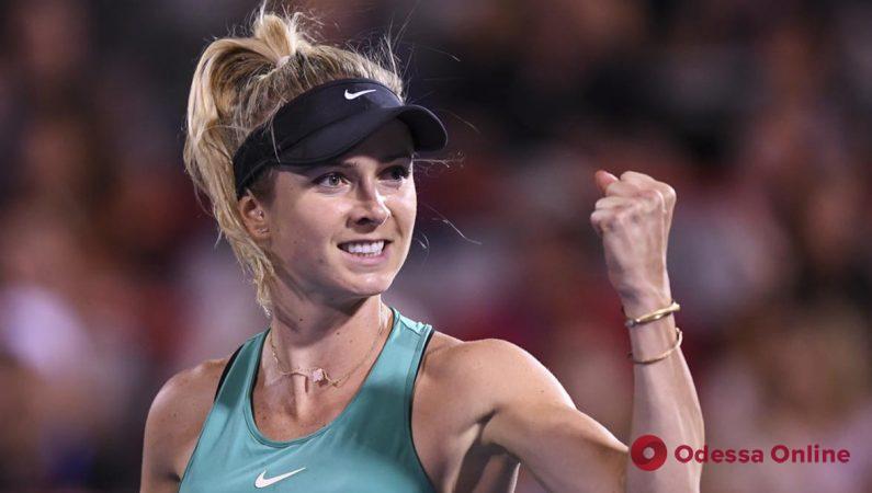 Одесская теннисистка – в полуфинале престижного турнира с призовым фондом 2,82 миллиона долларов (+видео)