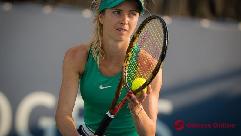 Теннис: Элина Свитолина неудачно стартовала в парном разряде престижного турнира в Канаде