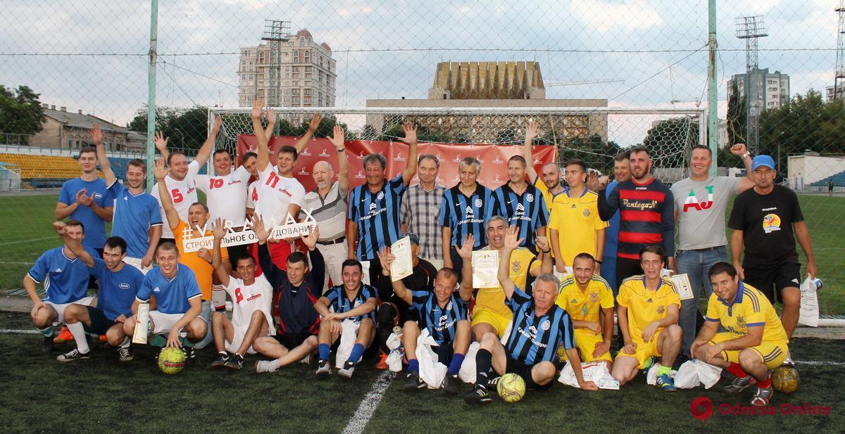 В Одессе состоялся праздничный турнир по мини-футболу