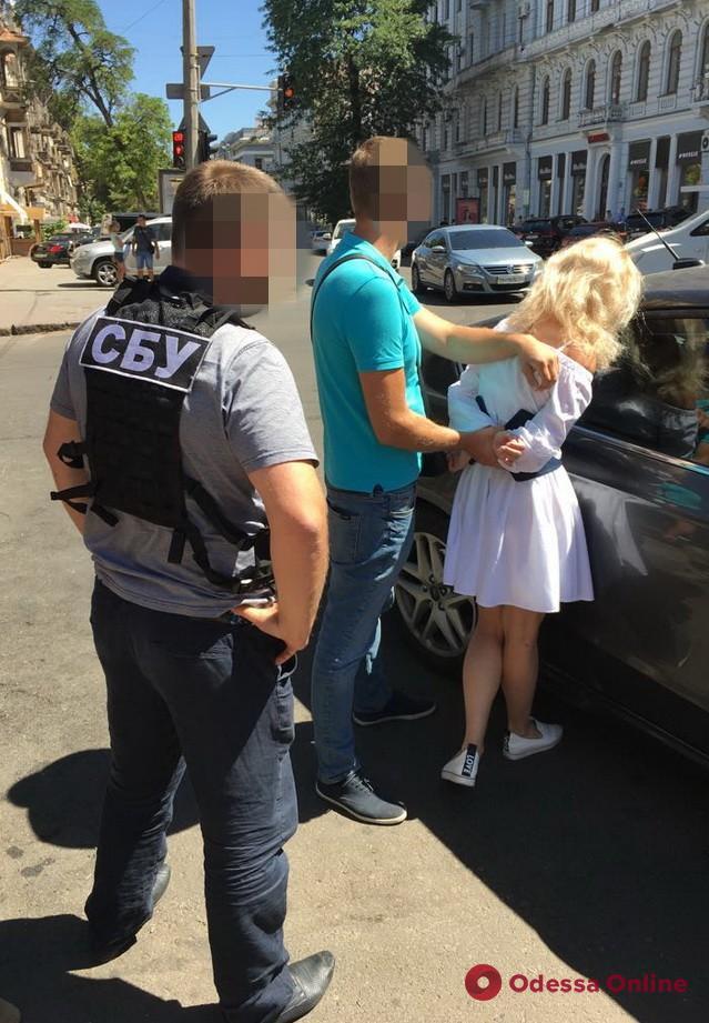 Одесса: В СБУ рассказали подробности задержания следователя-взяточницы