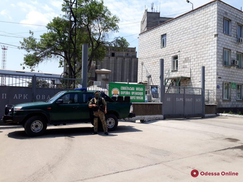 Через порт в Одесской области хотели незаконно вывезти 7150 тонн пшеницы