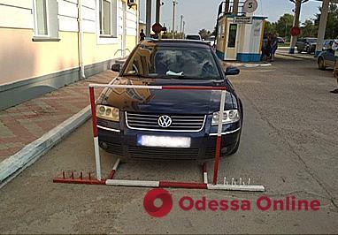 В Одесской области нашли угнанный в Польше автомобиль