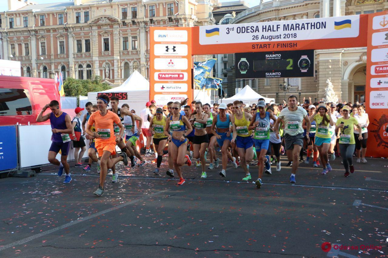 Одесса бежит: полумарафон-2018 объединил свыше двух тысяч спортсменов из 22 стран (фото, обновлено)