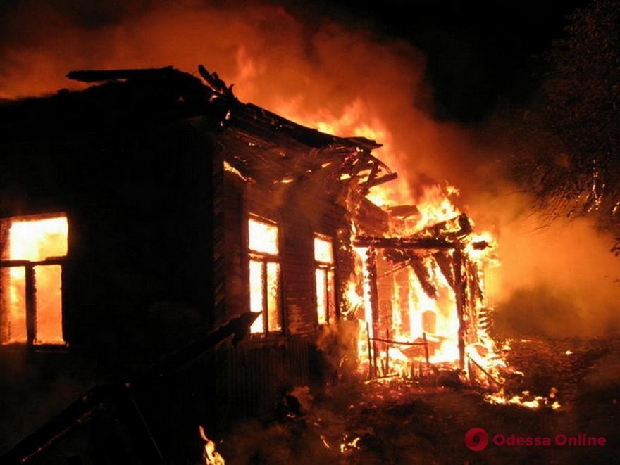 Одесская область: на пожаре погиб мужчина