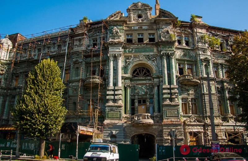 Одесса: в доме Руссова наткнулись на послание из прошлого (фото)