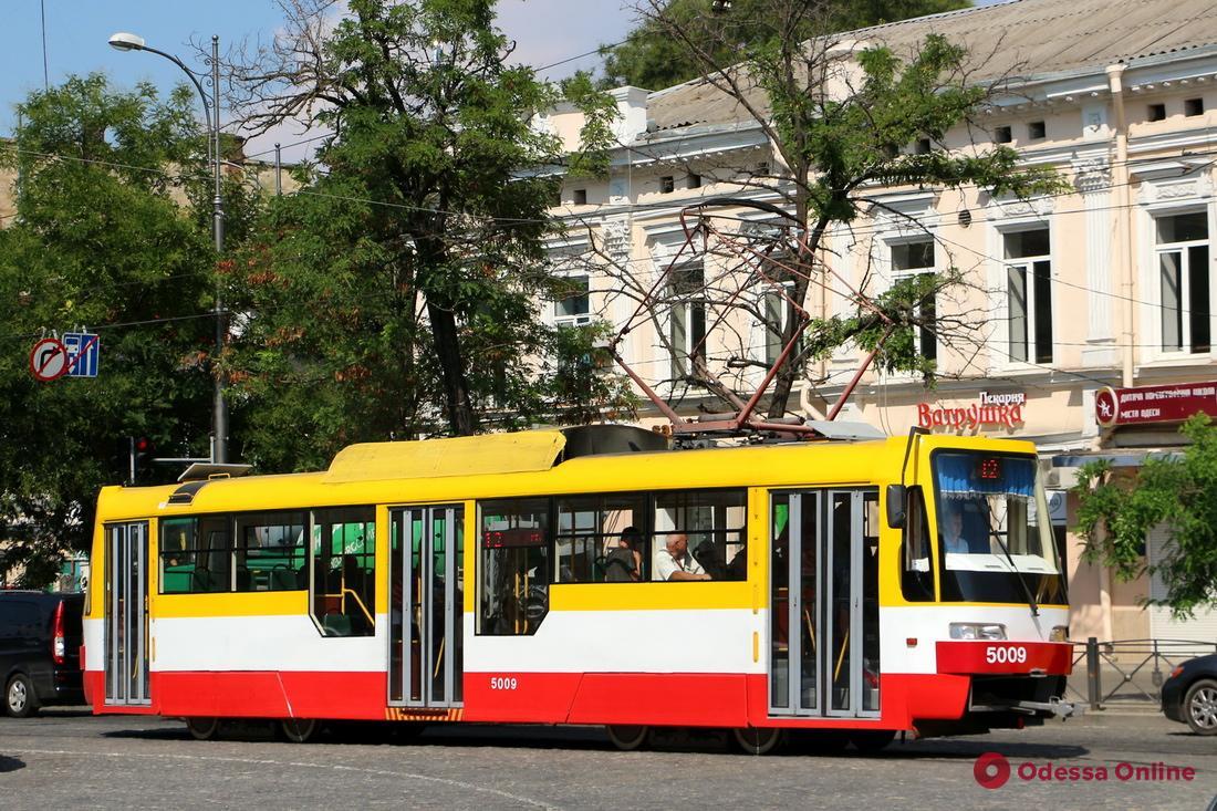В Одессе за два года заменят 60% трамваев