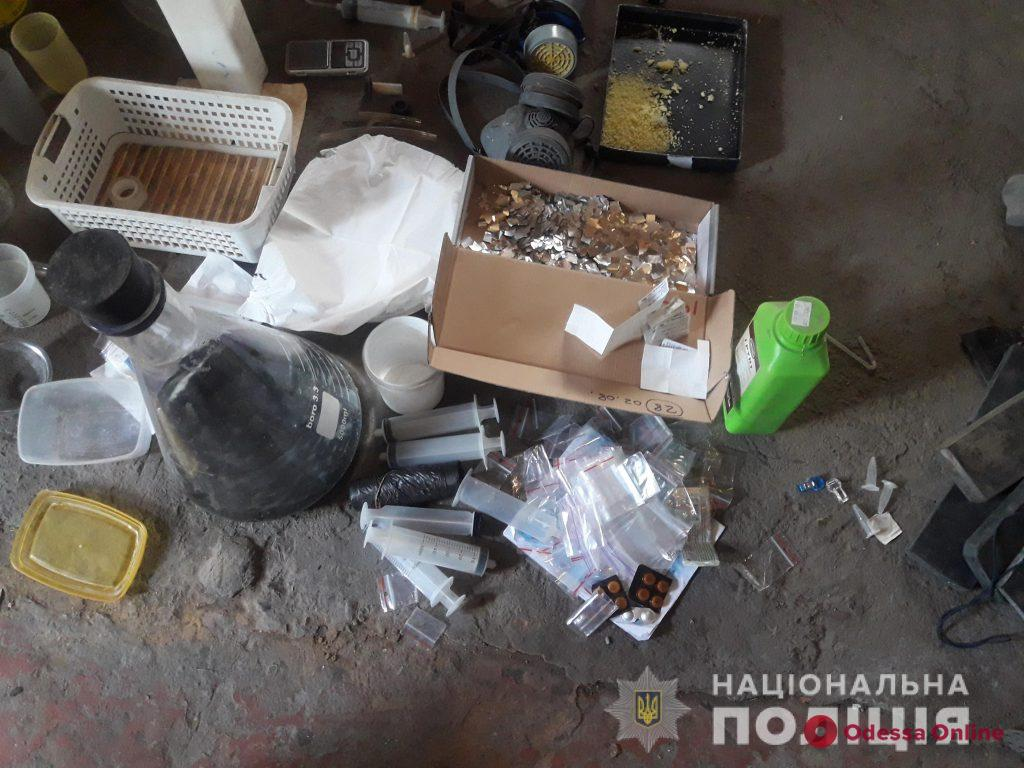 В Одесской области «прикрыли» нарколабораторию