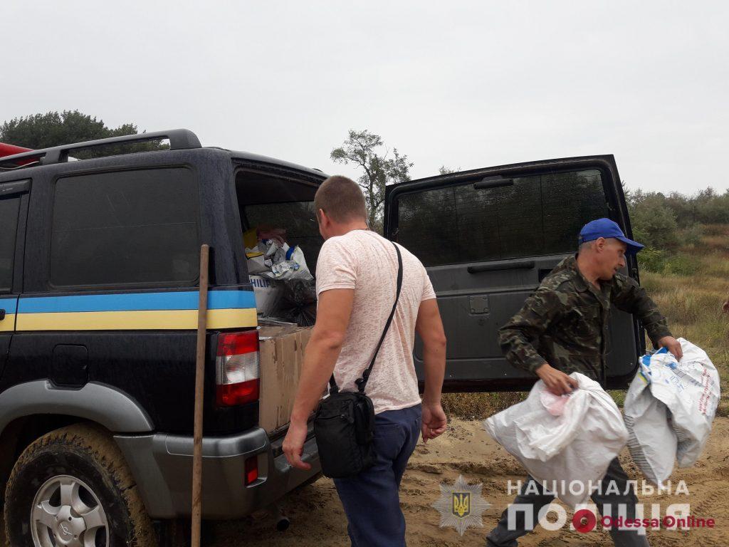 В Одесской области полиция сожгла партию наркотиков