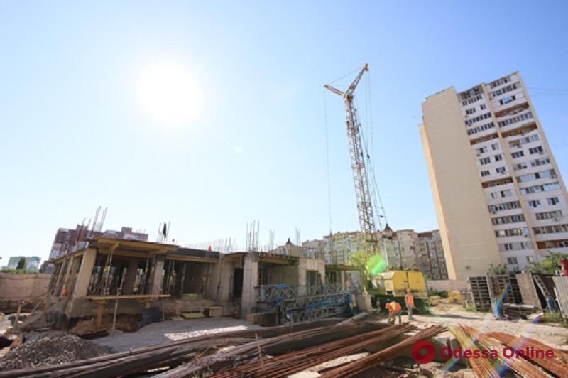 В Одессе возобновлено строительство дома для льготников (фото)