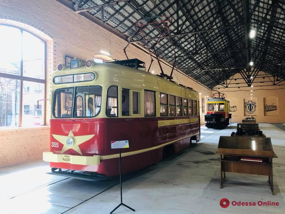 В Одессе открыли музей истории электротранспорта