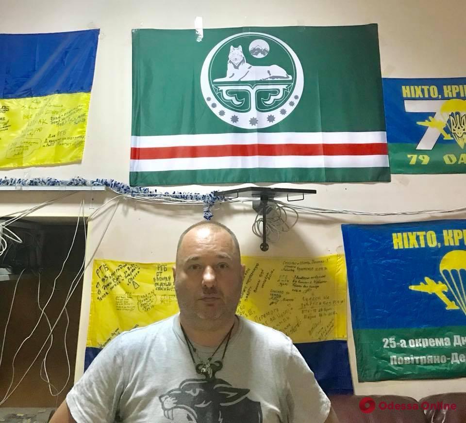 Одесса: лидера РГБ побили в бане