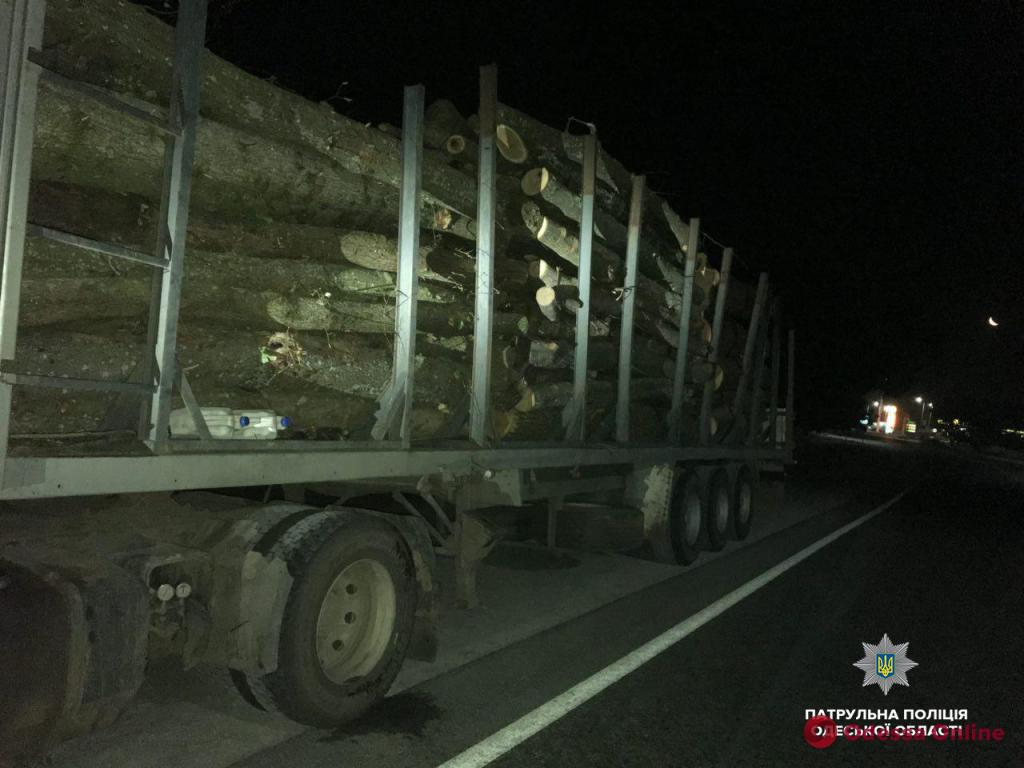 В Одесской области поймали «черных дровосеков»
