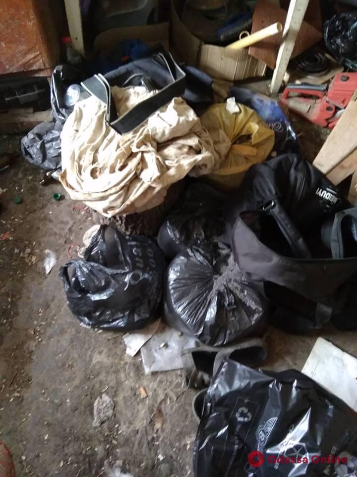 Пять мешков мака: под Одессой задержали наркодельца