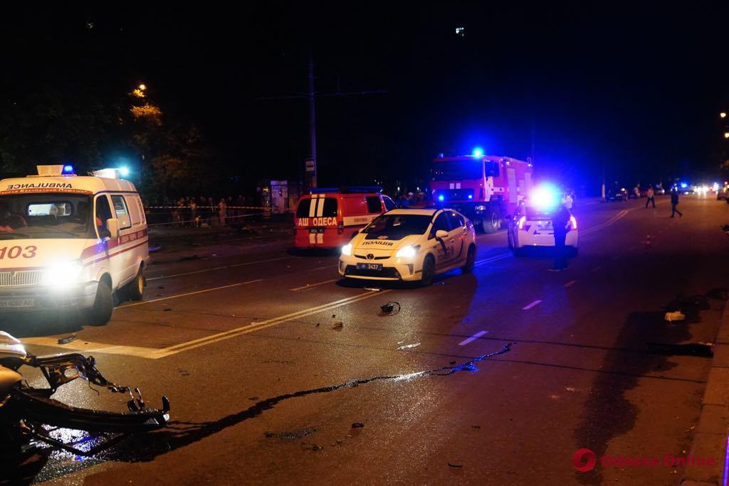 ДТП на Фонтане: скончался еще один пострадавший (обновлено)