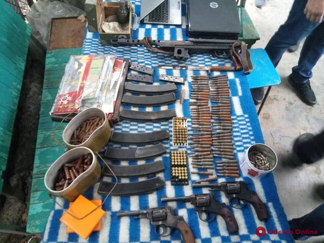 В Одесской области полиция нашла большой арсенал оружия
