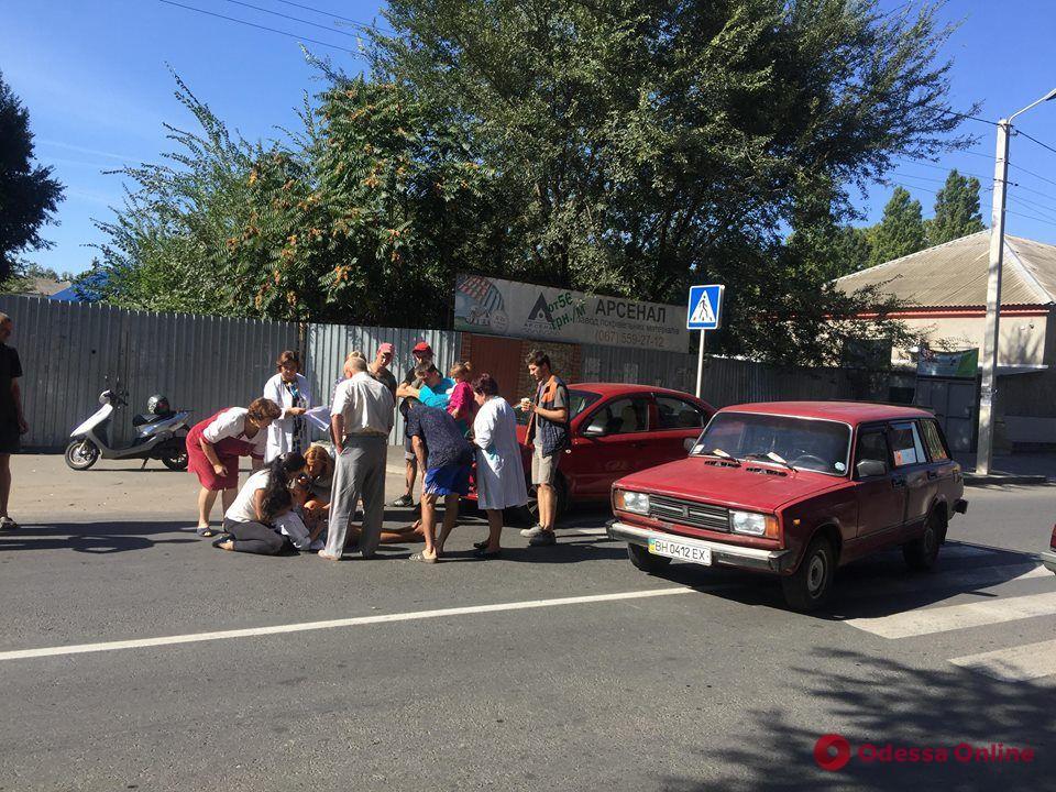 В Измаиле автомобиль сбил студентку медучилища