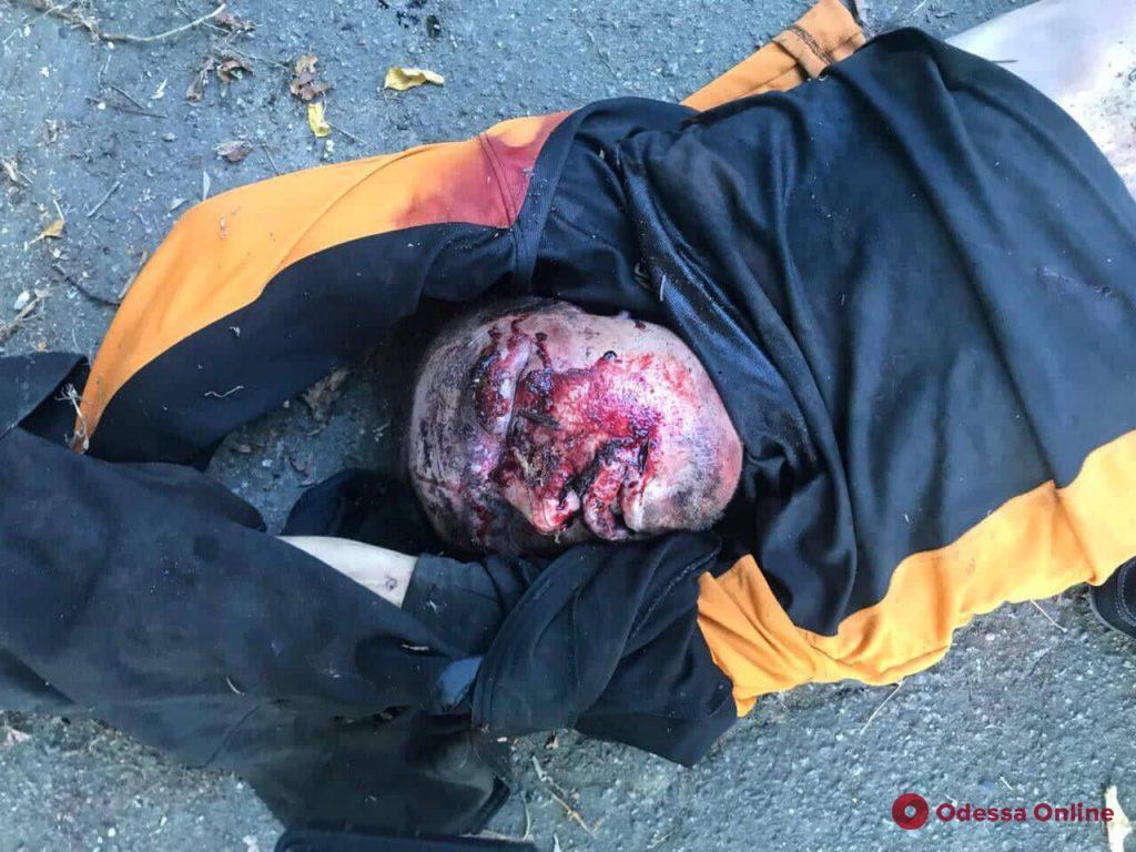 В парке Шевченко нашли труп (осторожно, фото)