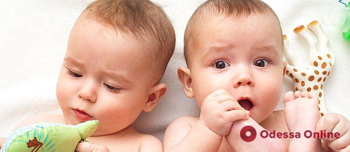 На прошлой неделе в Одессе родились четыре двойни