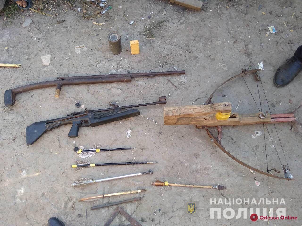 В Одесской области задержали любителя самодельного оружия