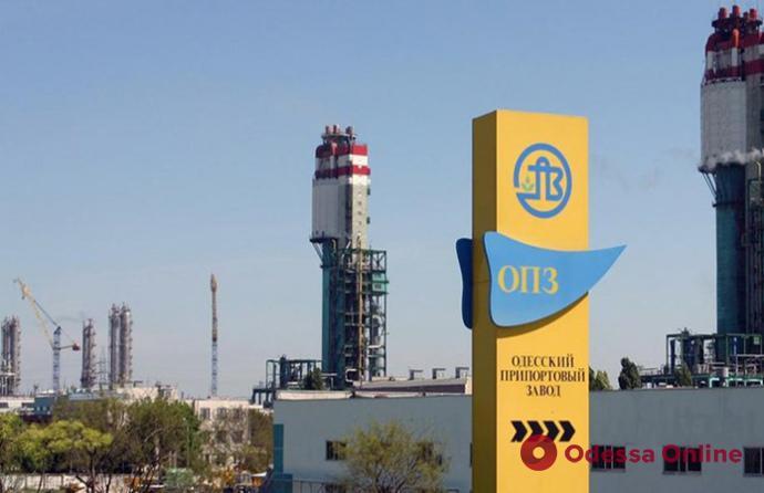 Одесский припортовый завод планирует возобновить работу с 1 ноября
