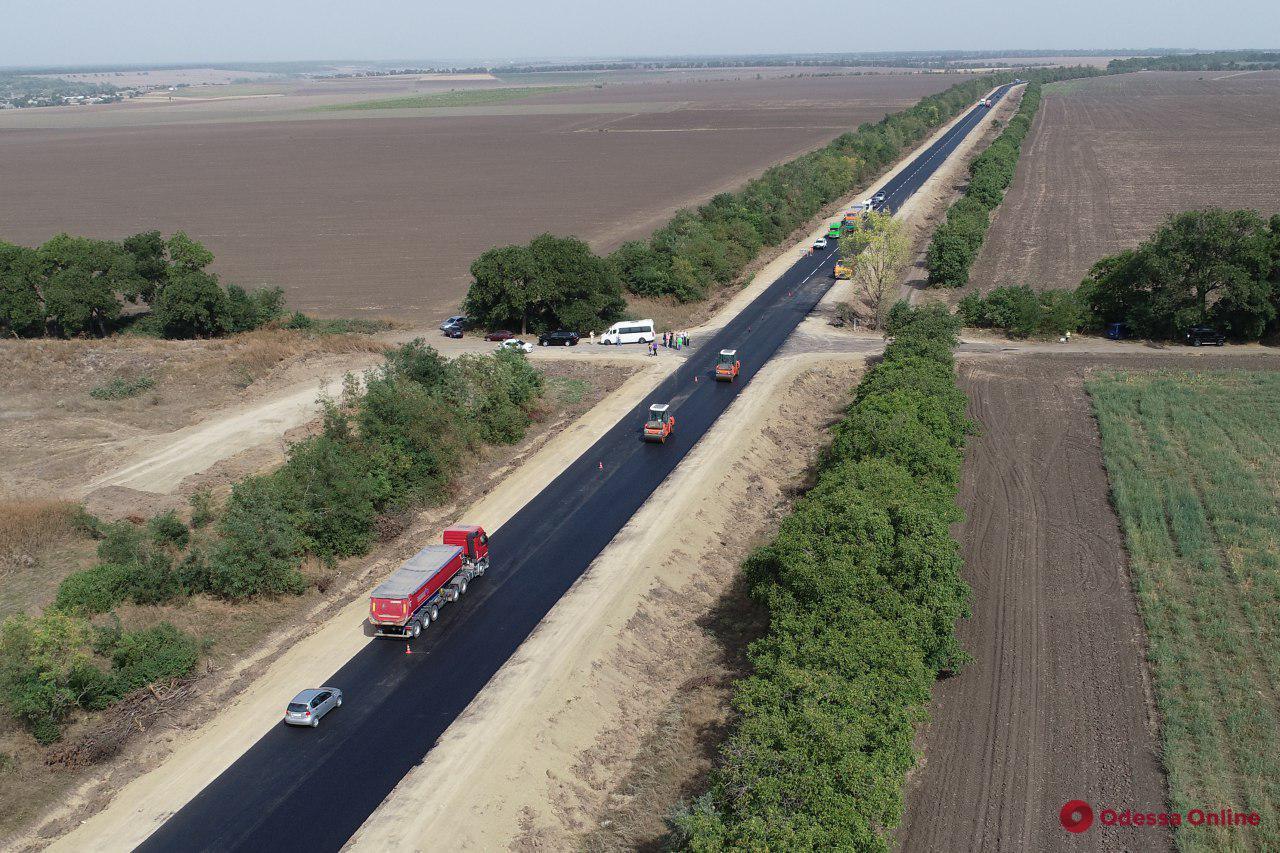 Трасса Одесса – Рени: завершен ремонт участка от моста возле Паланки до села Монаши
