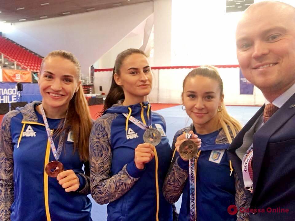 Каратэ: одесситки завоевали медали престижного турнира в Чили