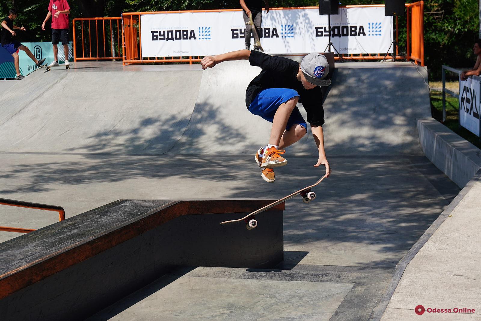 Одесские экстремалы открывают новый сезон в скейтпарке