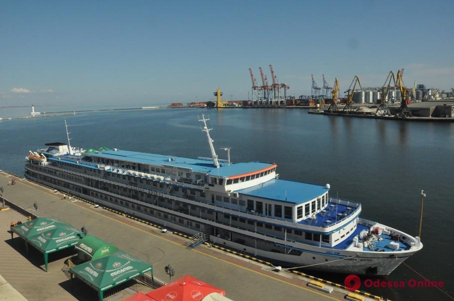В Одесском порту в девятый раз пришвартовалась «Принцесса Днепра»