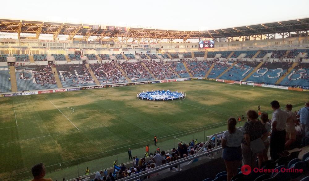 «Черноморцу» могут запретить играть на собственном стадионе