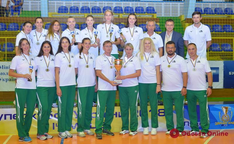 Волейболистки из Южного завоевали Суперкубок Украины