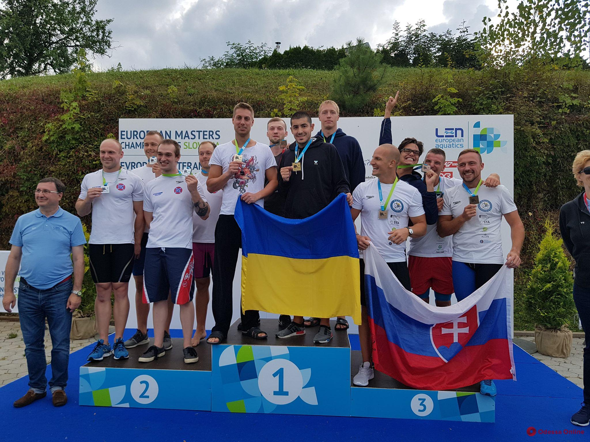 Представители Одессы удачно выступили на чемпионате Европы по плаванию