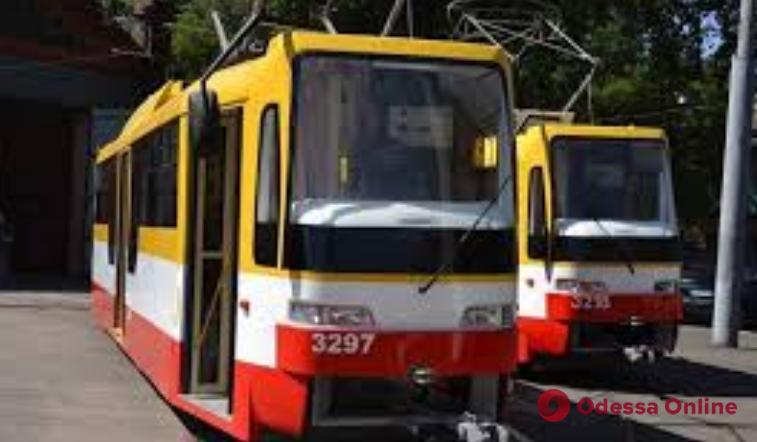 Одесса: из-за драки в трамвае временно не работали три маршрута