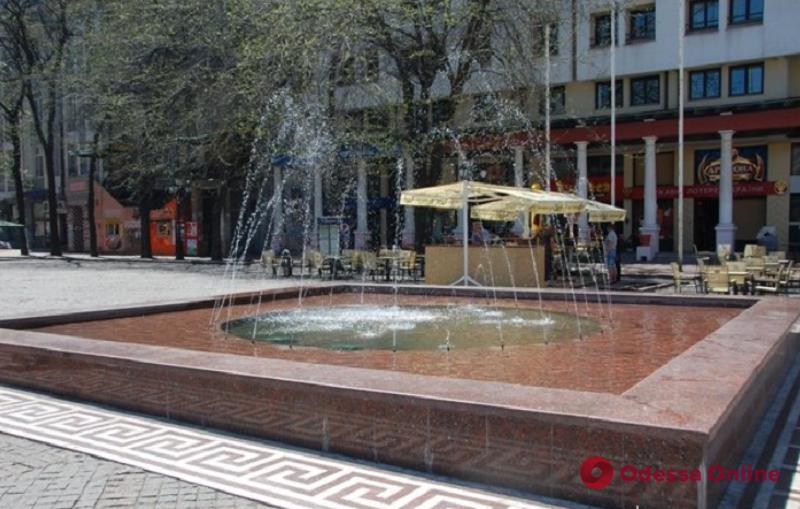 В Одессе проведут реконструкцию фонтана на Греческой площади