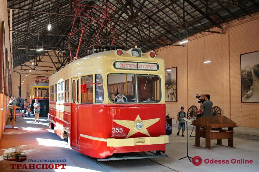 «Одиссей» и ретро-трамваи: одесситы побывали в музее электротранспорта (фото)