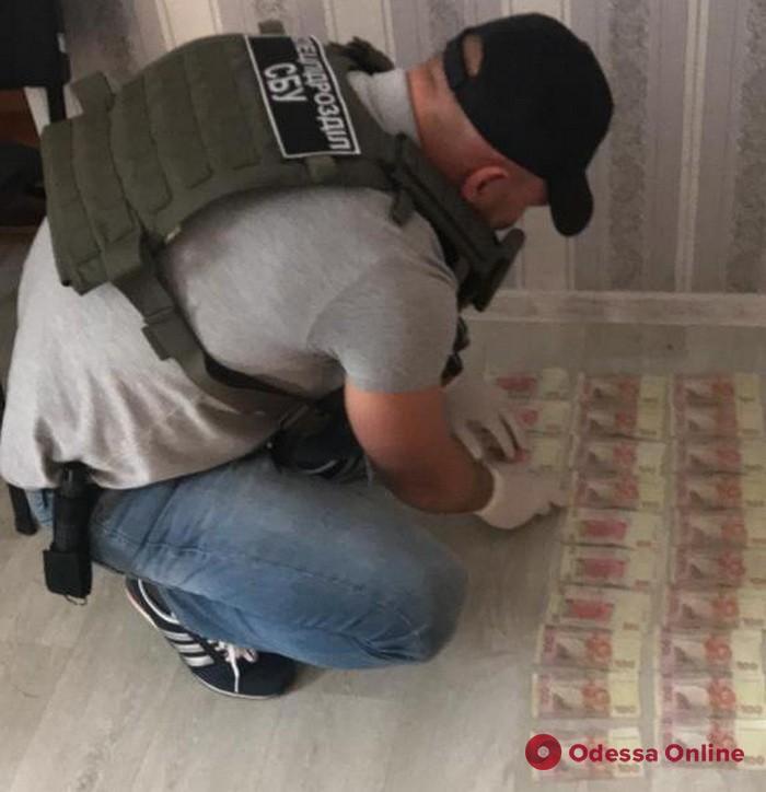 В Одесской области на взятке поймали госисполнителей