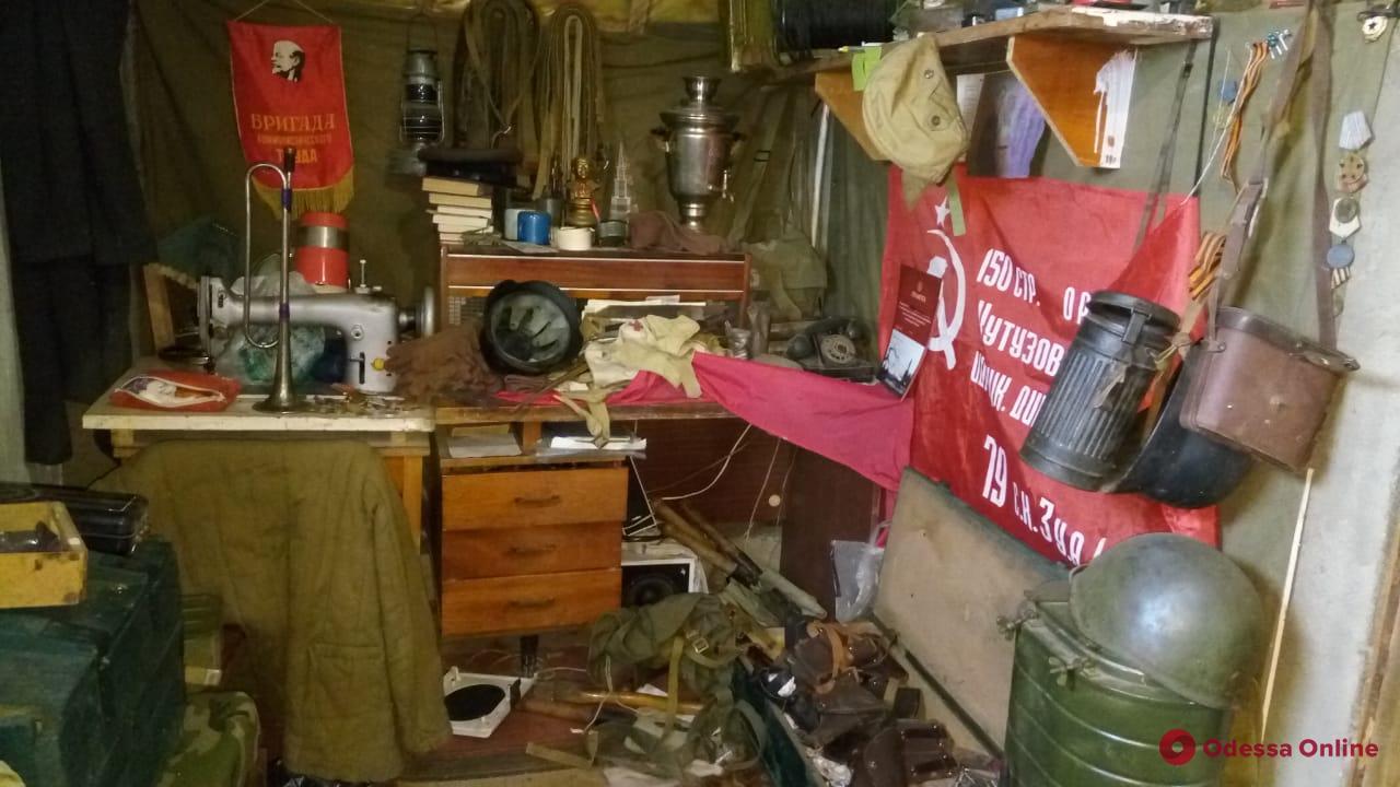 Одесская область: в Госпогранслужбе рассказали про найденный арсенал (фото)