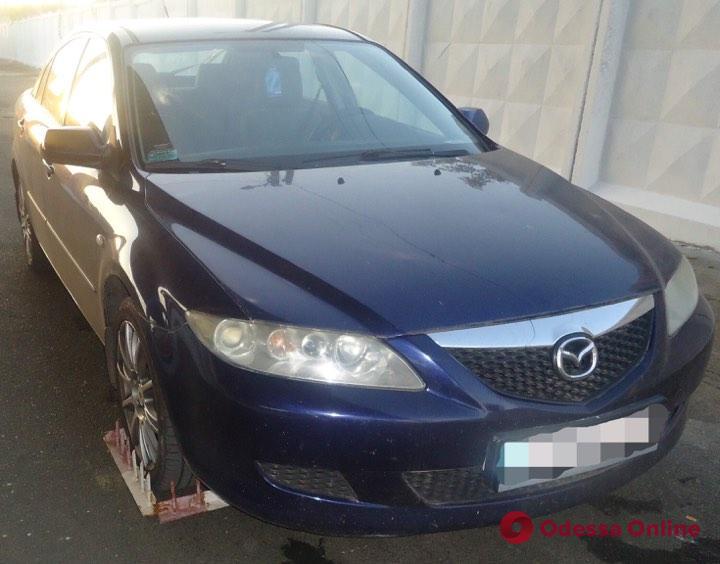 В Одесской области нашли угнанную в Турции машину