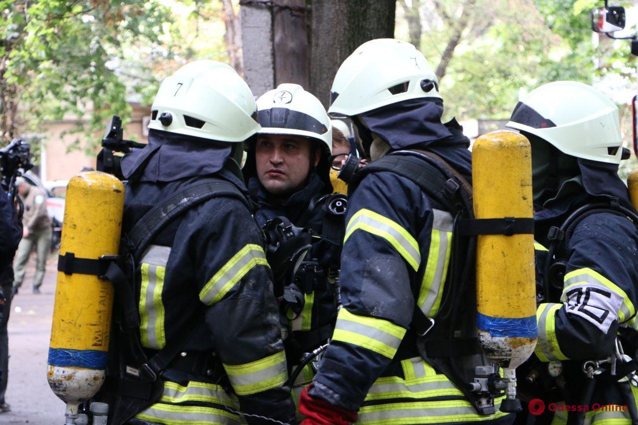 Взрыв газа: в Одессе прошли учения гражданской защиты