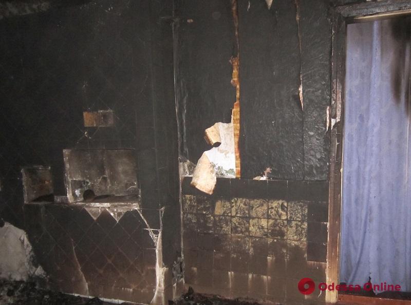 В Одесской области во время пожара погиб мужчина