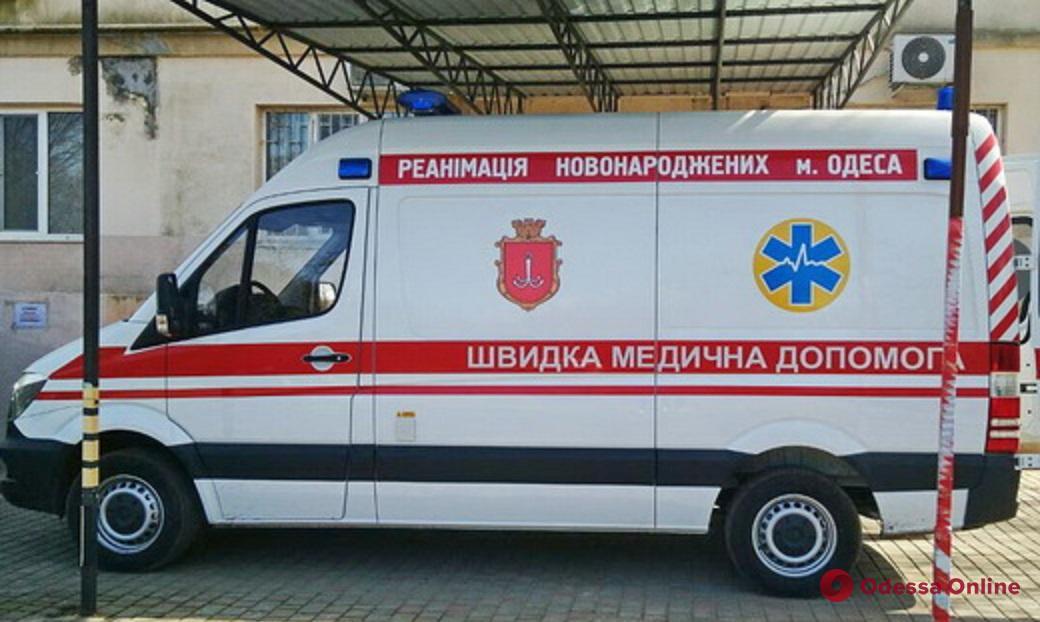 Одесса: для детской больницы Резника купили реанимобиль
