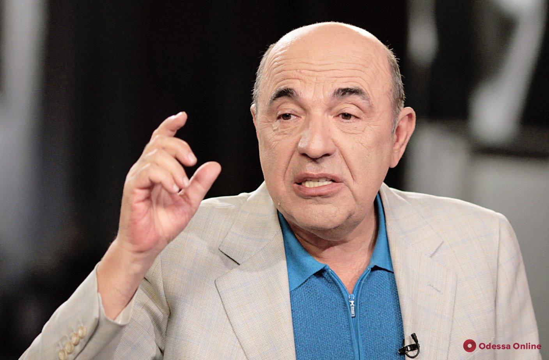Рабинович предложил одновременно снять неприкосновенность с депутатов, президента и судей