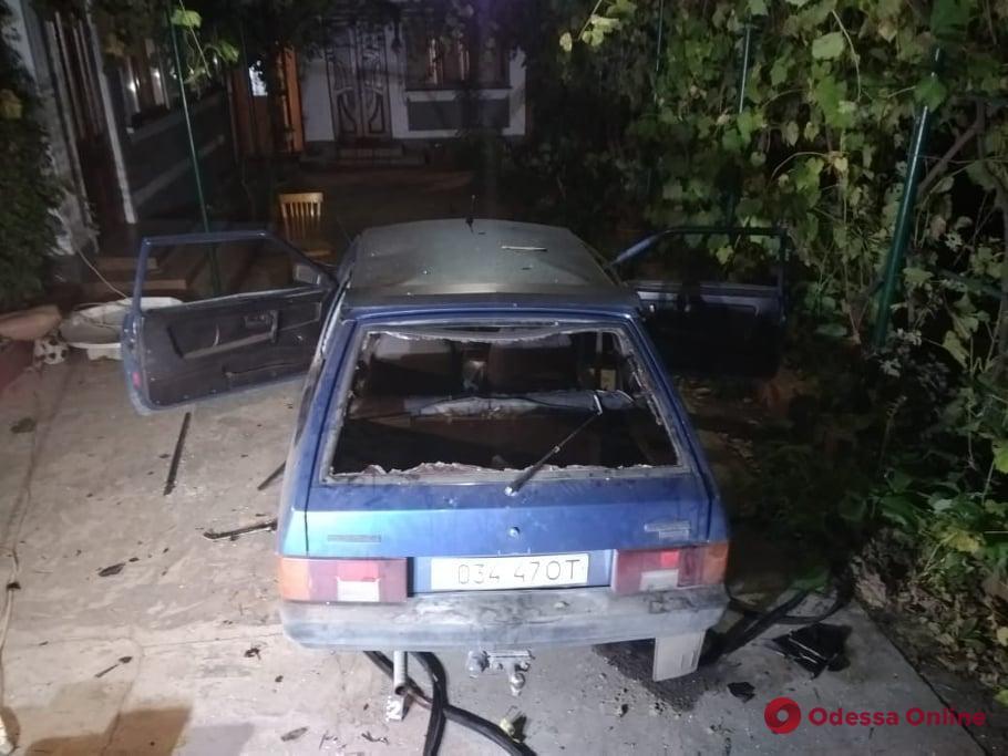 Одесская область: в машине секретаря совета объединенной громады взорвалась граната